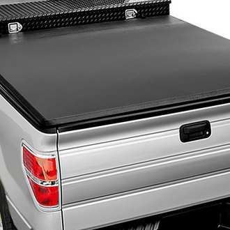 Image may not reflect your exact vehicle! Access® - Toolbox Roll-Up Tonneau Cover, Closed