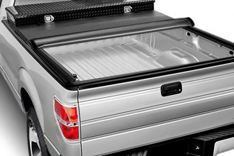 Image may not reflect your exact vehicle! Access® - Toolbox Roll-Up Tonneau Cover, Mid Opened