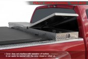 Access® - Toolbox Roll-Up Tonneau Cover, Toolbox Opened