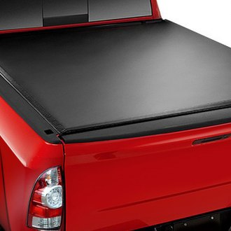 Image may not reflect your exact vehicle! Access® - Vanish Roll-Up Tonneau Cover, Closed