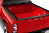 Image may not reflect your exact vehicle! Access® - Vanish Roll-Up Tonneau Cover, Opened