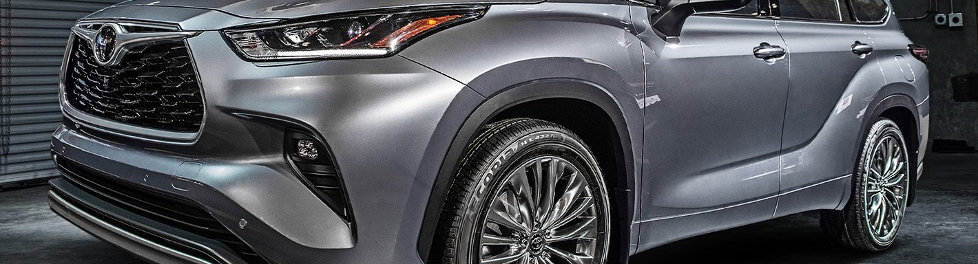 View 2020 Toyota Highlander Xle Running Boards