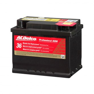 ACDelco® - Professional™ AGM Heavy Duty Battery