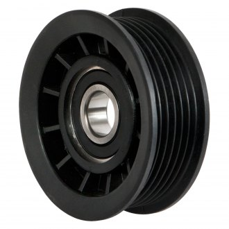 ACDelco® - Professional™ 6 Grooves Plastic Air Conditioning Drive Belt Idler Pulley