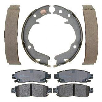 ACDelco® - Professional™ Bonded Rear Parking Brake Shoes