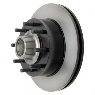 ACDelco® - Professional™ Vented 1-Piece Front Brake Rotor and Hub Assembly
