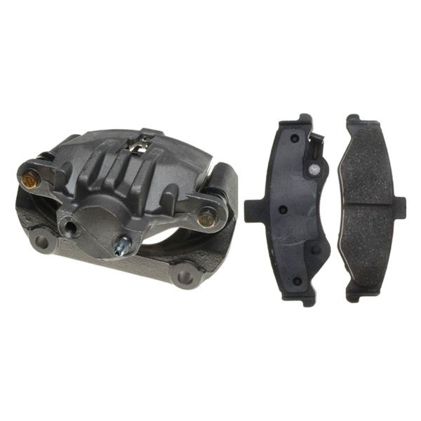 ACDelco® - Professional™ Remanufactured Rear Passenger Side Disc Brake Caliper