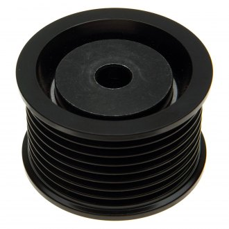ACDelco® - Professional™ 8 Grooves Steel Flanged Idler Pulley