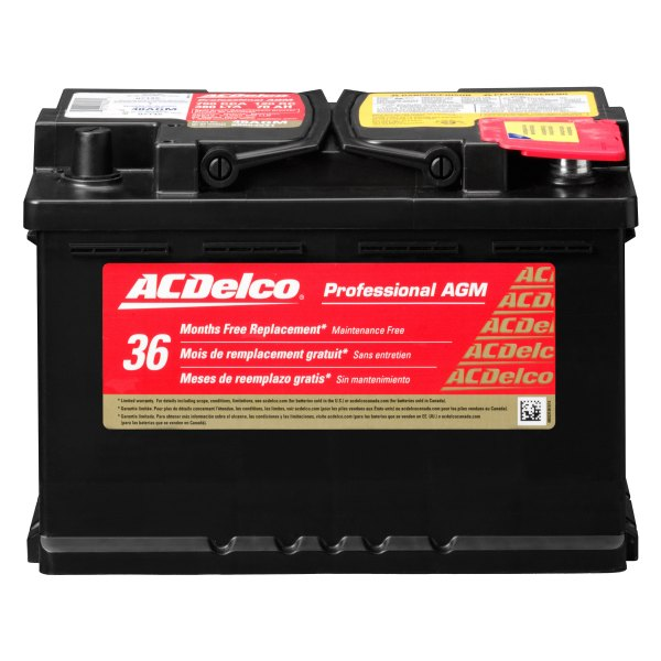 ACDelco® - Professional™ Remanufactured AGM Battery