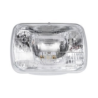 "ACDelco® - 7x6"" Rectangular Chrome Factory Style Sealed Beam Headlight"