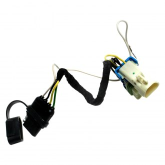 ACDelco TC298 Professional Inline to Trailer Wiring Harness Connector Converter Kit with Connectors