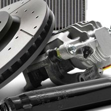 ACDelco® - Brake Calliper and Rotor