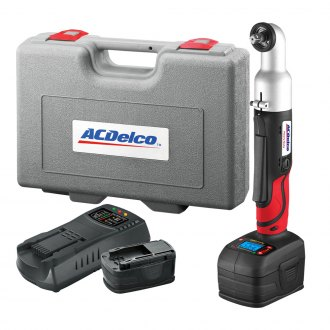 "ACDelco® - 3/8"" Drive 18V Angle Impact Wrench Kit with Digital Clutch"