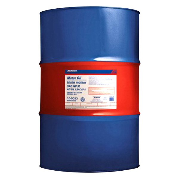 acdelco 10 9034 sae 10w 30 motor oil 55 gallons drum
