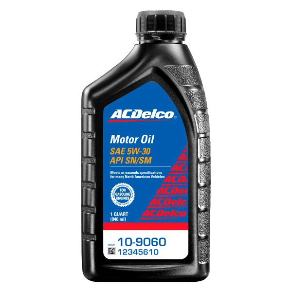 Acdelco 10 9060 Sae 5w 30 Motor Oil