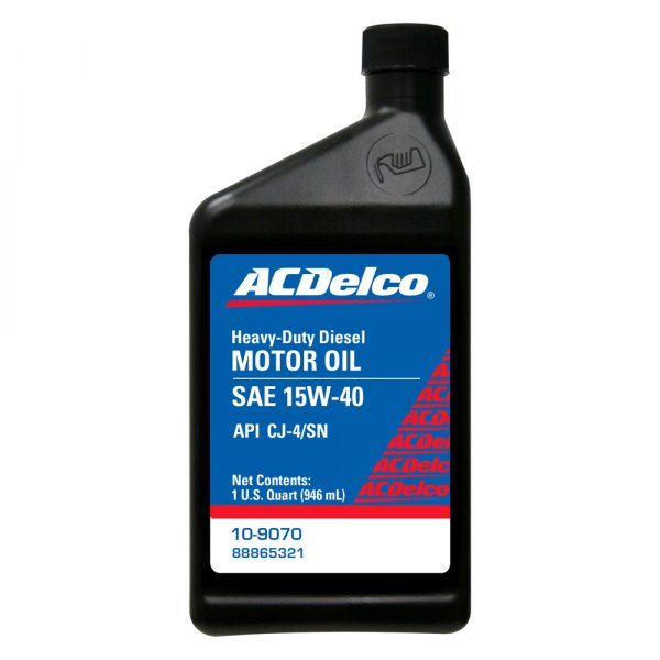 Acdelco 10 9070 Sae 15w 40 Cj 4 Motor Oil 1 Quart