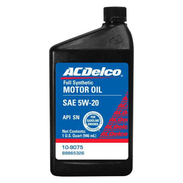 Acdelco 10 9075 Sae 5w 20 Synthetic Motor Oil 1 Quart