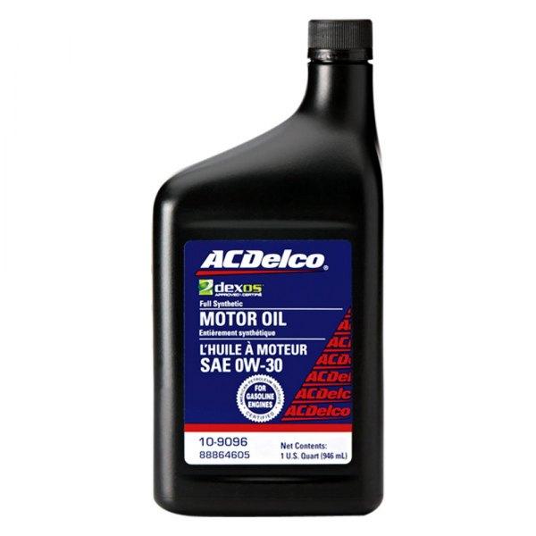 acdelco 10 9096 sae 0w 30 motor oil 1 quart