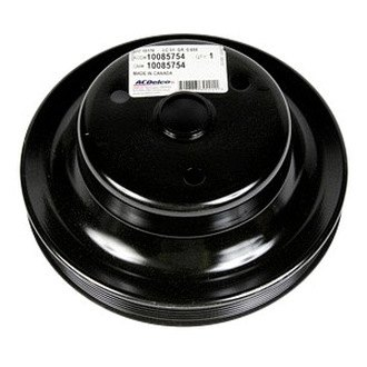 ACDelco® - GM Original Equipment™ 6 Grooves Steel Crankshaft Pulley