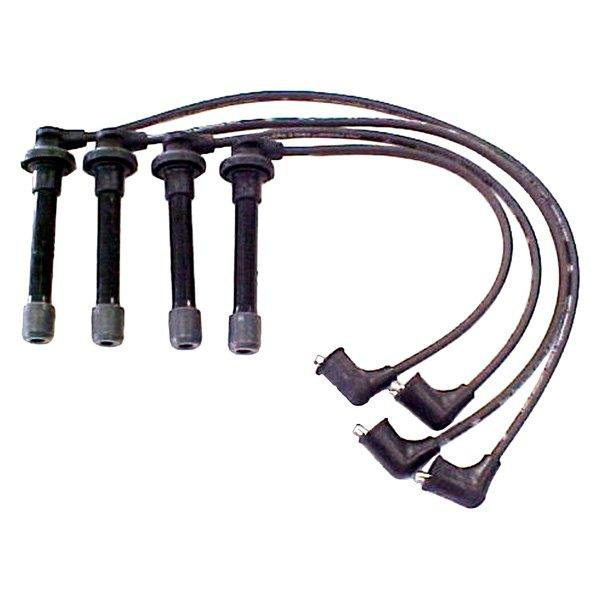 acdelco u00ae honda civic 1995 professional u2122 spark plug wire set 1995 honda civic ignition wiring diagram Best Harley Davidson Spark Plugs
