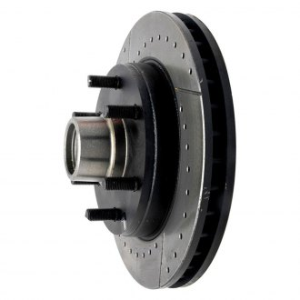 ACDelco® - Specialty™ Drilled and Slotted Vented 1-Piece Front Brake Rotor and Hub Assemblies