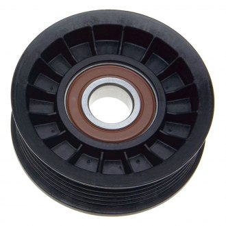 ACDelco® - Professional™ V-Ribbed Grooved Thermoplastic Flanged Idler Pulley
