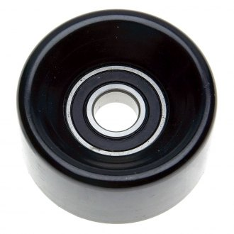 ACDelco® - Professional™ Smooth Pulley Smooth/Backside Steel Idler Pulley