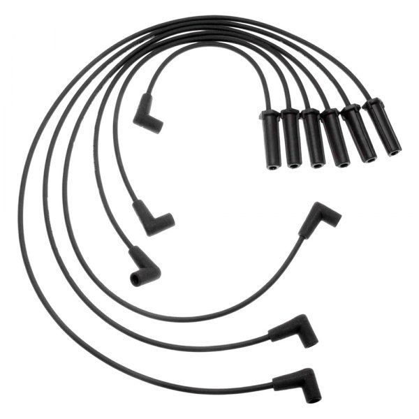 acdelco 756s gm original equipment spark plug wire set. Black Bedroom Furniture Sets. Home Design Ideas