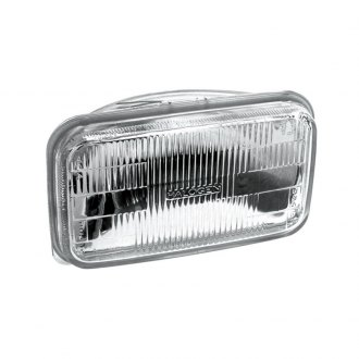 ACDelco® - 92x150mm Rectangular Chrome Factory Style Sealed Beam Headlight