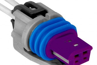 ACDelco® - GM Original Equipment™ 2-Pin Female Gray Vehicle Speed Sensor Connector
