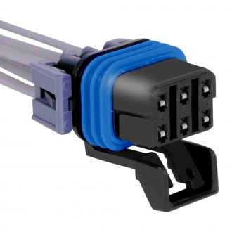 ACDelco® - GM Original Equipment™ Female 6-Terminals Self-Leveling Control Module Connector