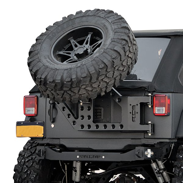 Beautiful ACE Engineering®   Stand Alone Slant Back Tire Carrier Kit
