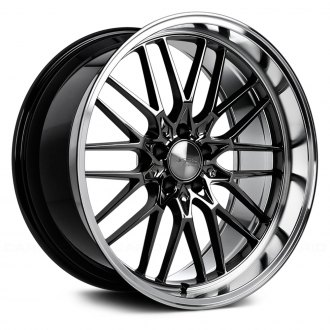 ACE ALLOY® - AFF04 Black Chrome with Machined Lip