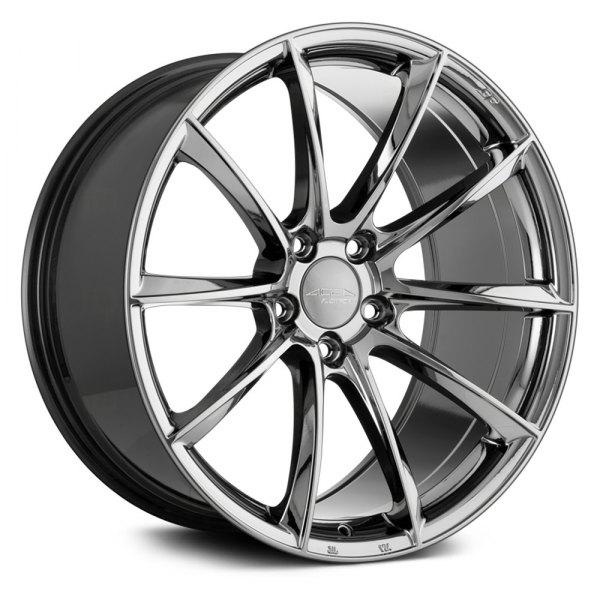 Ace Alloy Aff05 Wheels Black Chrome Rims
