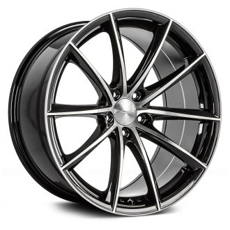 ACE ALLOY® - CONVEX Gloss Black with Machined Face