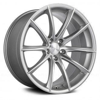 ACE ALLOY® - CONVEX Matte Silver with Machined Face