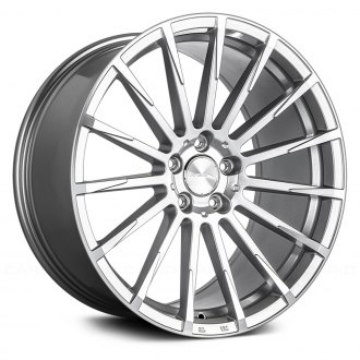 ACE ALLOY® - DEVOTION Metallic Silver with Machined Face