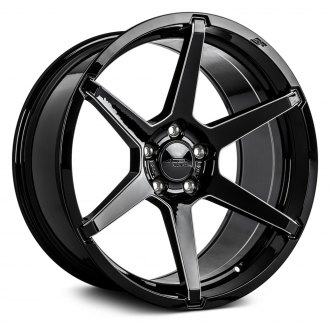 ACE ALLOY® - AFF06 Gloss Black with Milled Accents