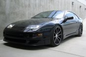 ACE® - CONVEX Gloss Black with Machined Face on Nissan 300ZX