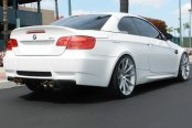 ACE® - CONVEX Matte Silver with Machined Face on BMW M3
