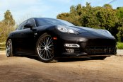 ACE® - EMINENCE Black with Machined Face and SS Lip on Porsche Panamera