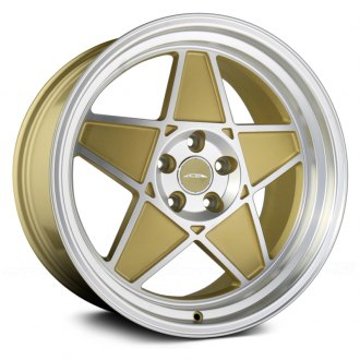 ACE ALLOY® - SL-5 Matte Gold with Machined Face and Diamond Cut Lip