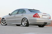 ACE® - TREND Hyper Silver with Machined Lip on Mercedes E550