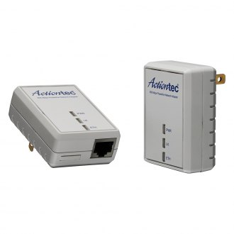 Actiontec® - 500 Mbps Powerline Network Adapter Kit