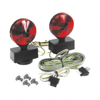 Acutek® - 12V Magnetic Base Towing Lights with 20' Cord