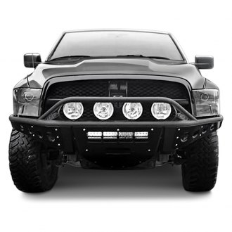 ADD® - Stealth Full Width Front Pre-Runner Winch Bumper with Hoop