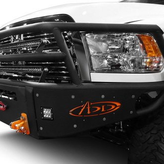 ADD® - Rancher Full Width Front Pre-Runner Bumper with Grille Guard