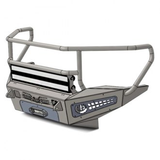 ADD® - Honeybadger Rancher Full Width Front HD Winch Bumper with Grille Guard