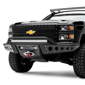 ADD® - Stealth Full Width Front Winch Pre-Runner Bumper with Hoop