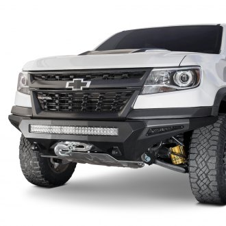 2018 Chevy Colorado Off Road Steel Front Bumpers Carid Com